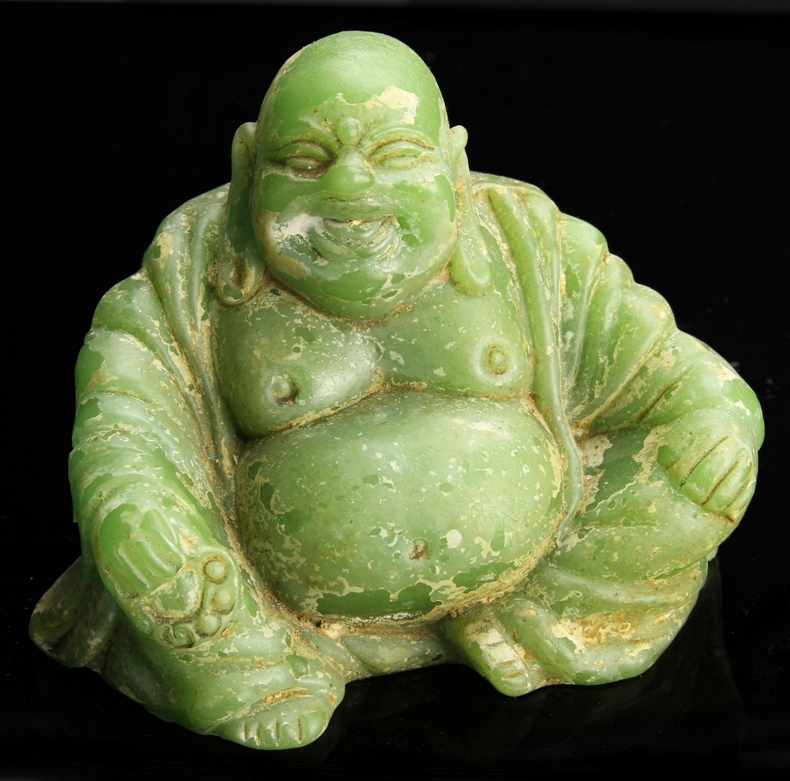 Chinese Glass Buddha