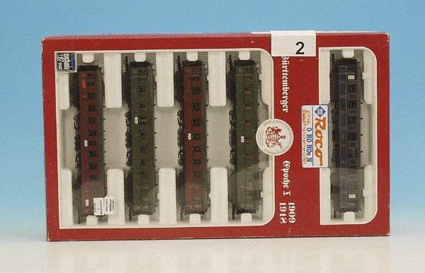 2: 1 ROCO Zugpackung 44006 württ. D-Zug