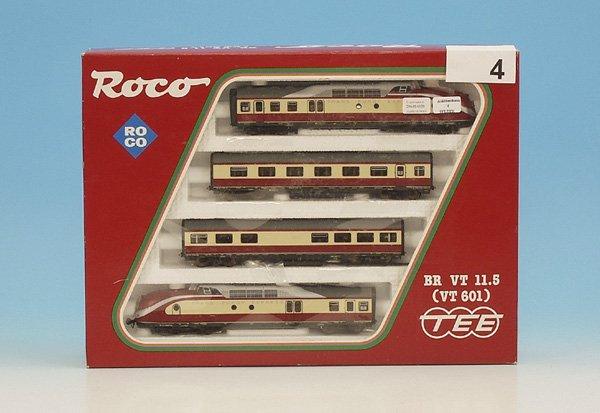 4: 1 ROCO TEE Triebzug VT 601 No. 14183 A