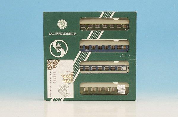 8: 1 Sachsenmodelle Wagenset Balkan-Express