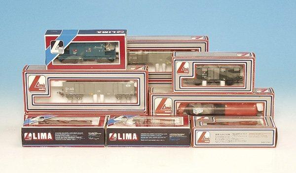 16: 1 Konvolut LIMA Güterwagen