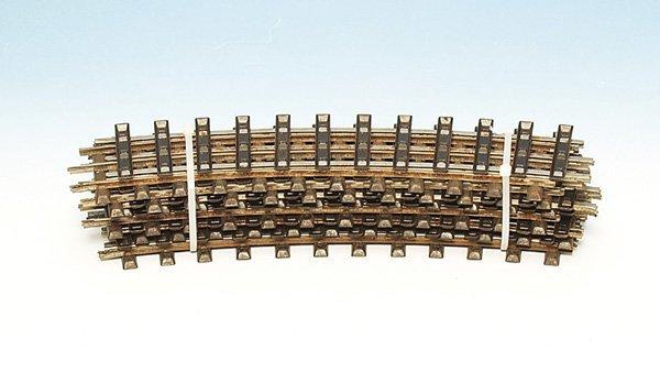 3019: 12 MÄRKLIN Modellgleise 3631 A 1/1, Spur 1