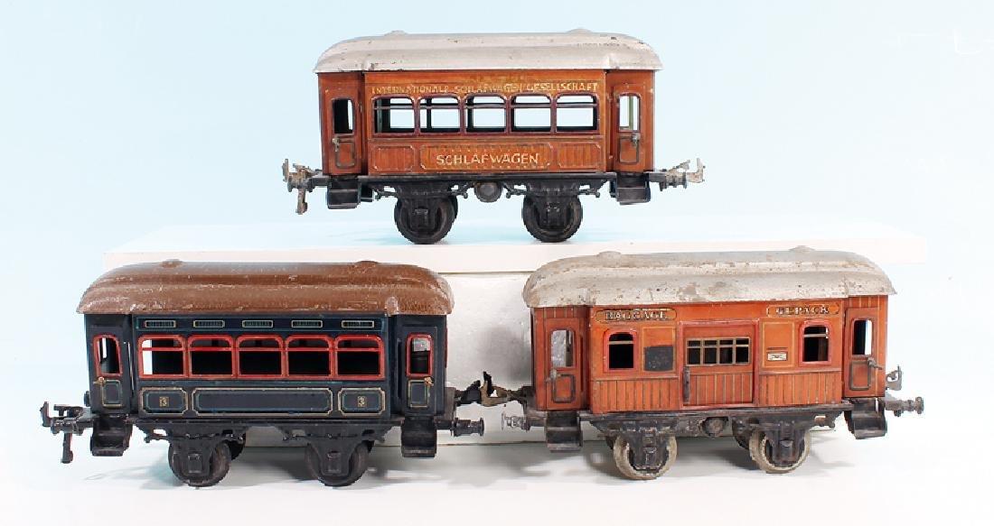 3 BING Personenwagen