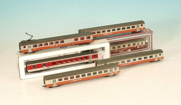 10: Konvolut D-Zug-Wagen der SBB