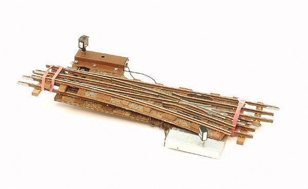 1019: 2 KEISER elektromagnetische Weichen li. u. re., S
