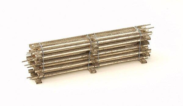 1034: 6 MÄRKLIN Gleise 3610 D 1/1, Spur 0