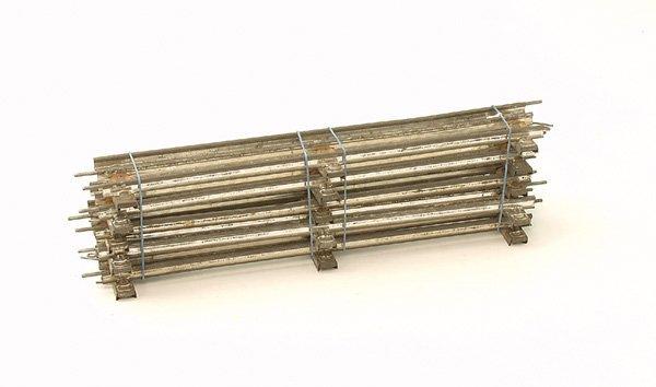 1036: 6 MÄRKLIN Gleise 3610 D 1/1, Spur 0