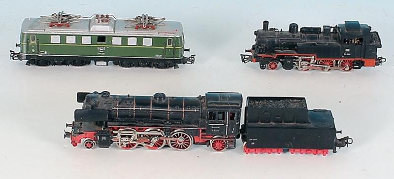 3 MARKLIN Lokomotiven