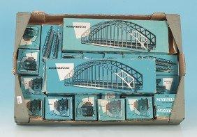 3: Konvolut MÄRKLIN Brücken, 60er Jahre