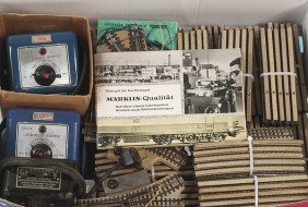 6: Konvolut MÄRKLIN Metallgleise 50er Jahre