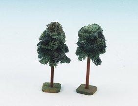 1208: 2 LUFFA Bäume, Spur 0 Größe