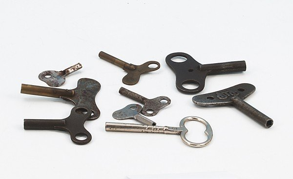 1229: Konvolut Uhrwerkschlüssel