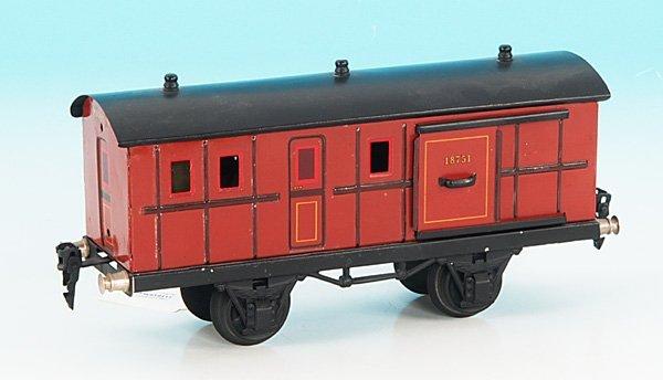 3262: MARKLIN Packwagen 1875/1