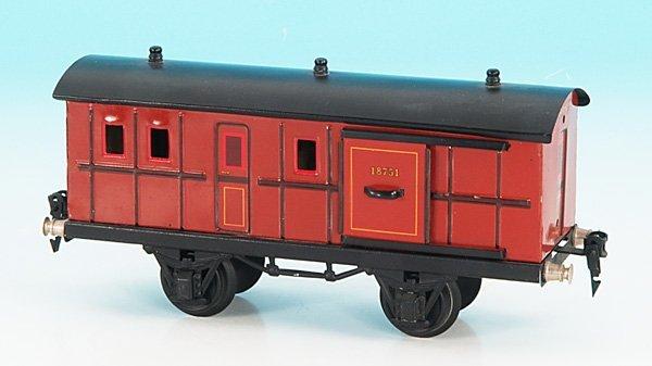 3262: MARKLIN Packwagen 1875/1 - 2