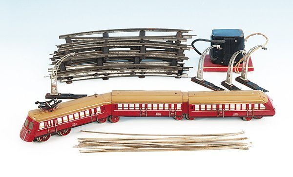 1470: PAYA dreiteiliger Schnelltriebwagen 1001