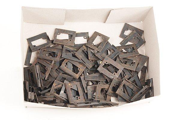 3008: Konvolut MÄRKLIN Halteplatten für Modellgleise