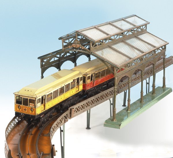 3830: CARETTE Berliner U-Hochbahn, Spur 1 Größe