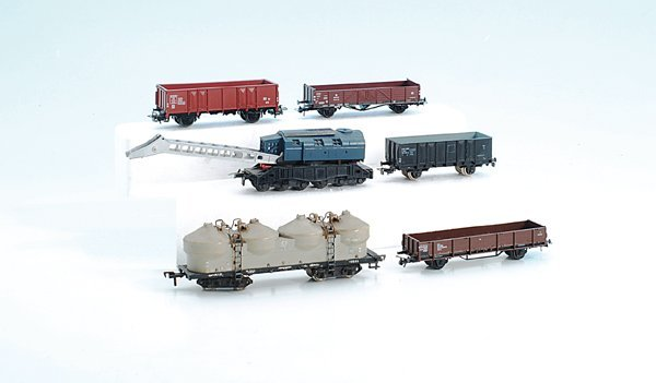 Konvolut H0-Güterwagen