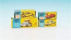 4 CORGI Autos in OKTs