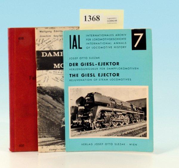 3 Bände Eisenbahnliteratur