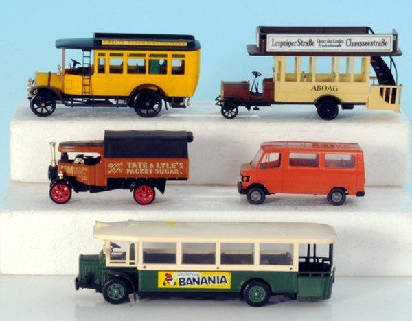 5 Miniatur-Autos