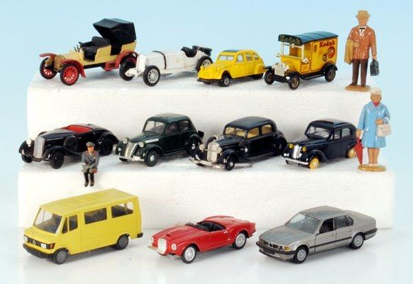 11 Miniatur-Autos