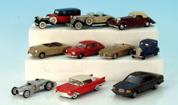 10 Miniatur-Autos