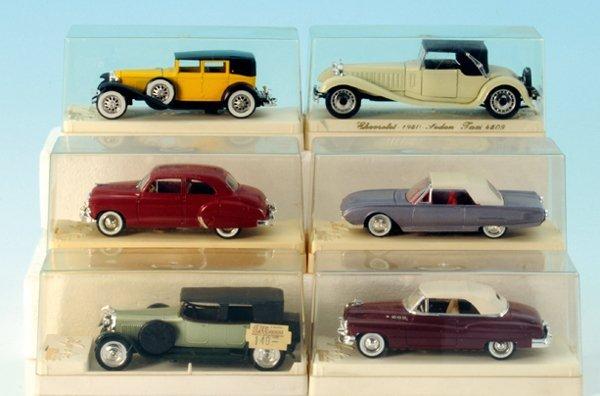 6 SOLIDA Miniatur-Autos
