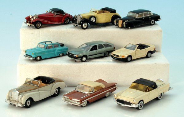 9 Miniatur-Autos