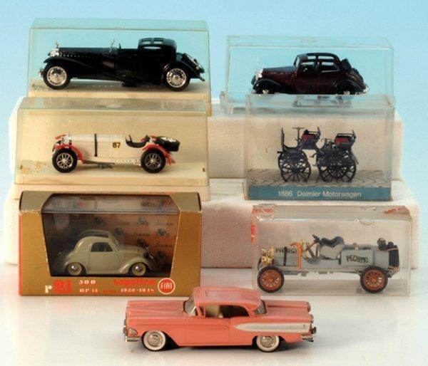 7 Miniatur-Autos