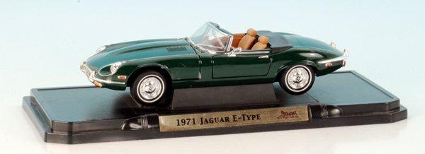 Guss-Modell Jaguar E