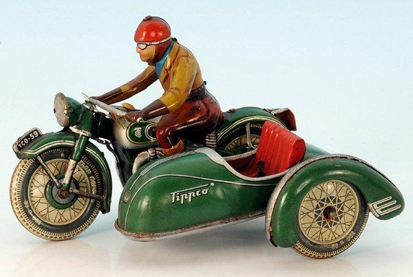 TippCo Motorrad mit Beiwagen TCO. 59