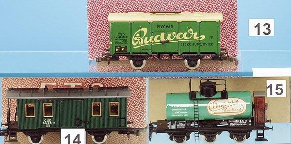 "13: 1 ETS Bierwagen ""BUDVAR"""