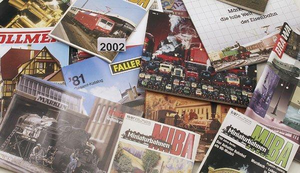 2002: 1 Konvolut Eisenbahnliteratur