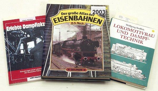 2003: 1 Konvolut Eisenbahn-Buecher