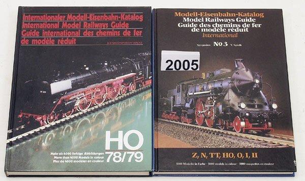 2005: 1 Konvolut Eisenbahn - Literatur