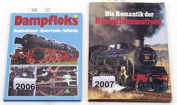 "2007: 1 Exemplar ""Romatik der Dampflokomotiven"""