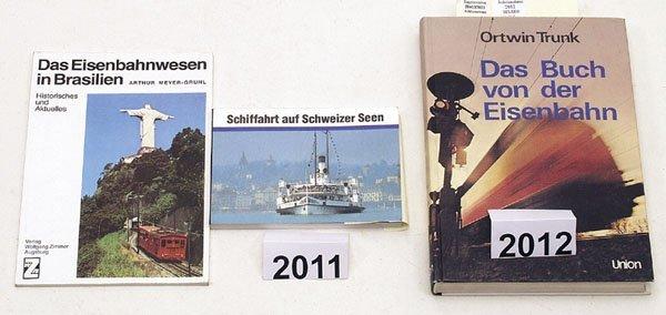 """2012: 1 Exemplar """"Das Buch von der Eisenbahn"""""""