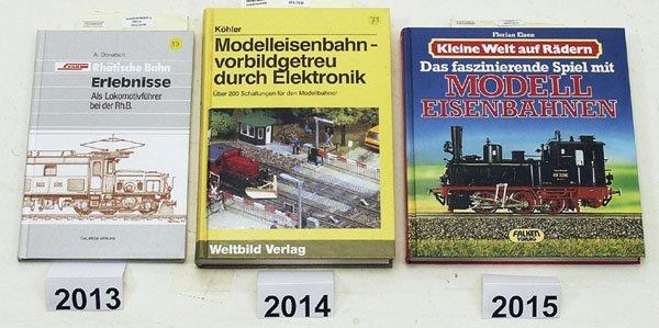 """2013: 1 """"RhAtische Bahn - Erlebnisse als Lokomotivfuehr"""