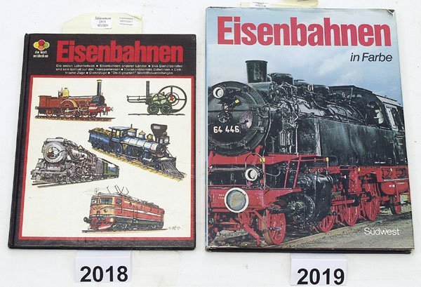 """2019: 1 Exemplar """"Eisenbahnen in Farbe"""""""