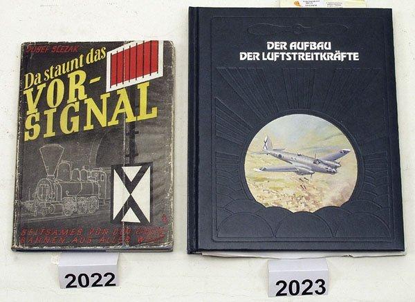 """2022: 1 Exemplar """"Da staunt das Vorsignal"""""""
