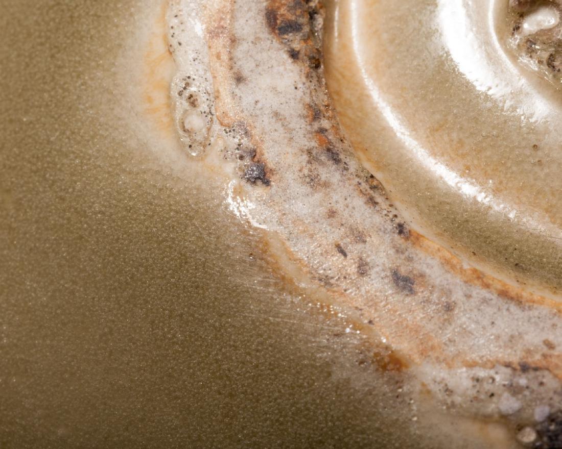 A Yaozhou Celadon Porcelain Bowl - 9
