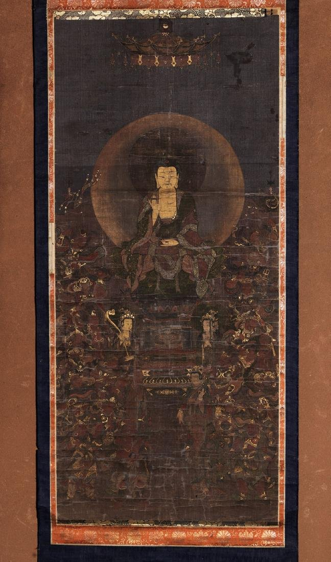 A  Japanese Buddhism Painting