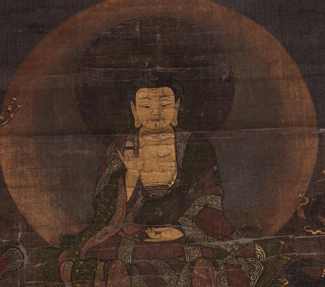 A  Japanese Buddhism Painting - 2