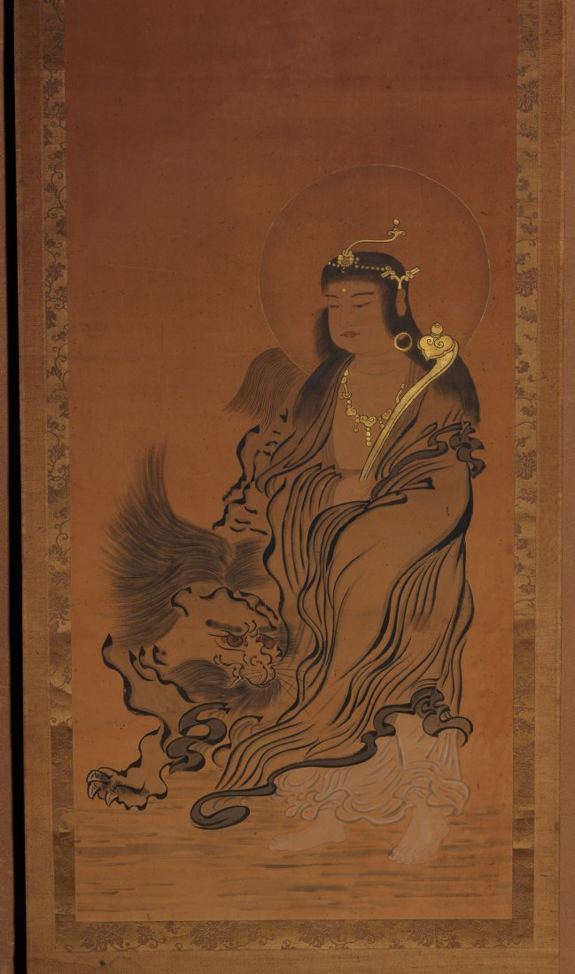 Japanese Painting, Anonymous, Manjushri