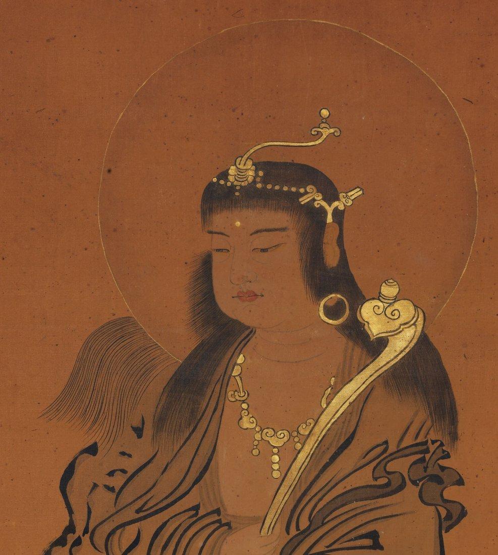 Japanese Painting, Anonymous, Manjushri - 2