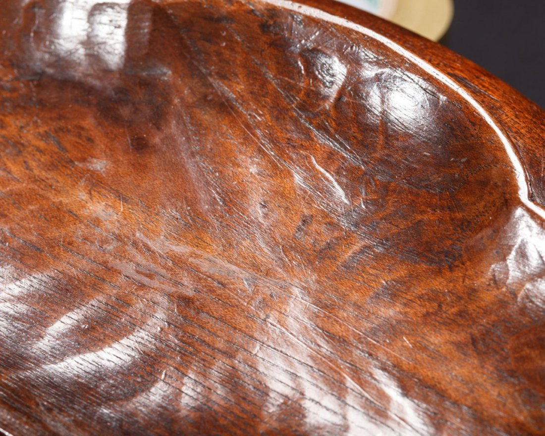 A Japanese Wooden Tray - 8