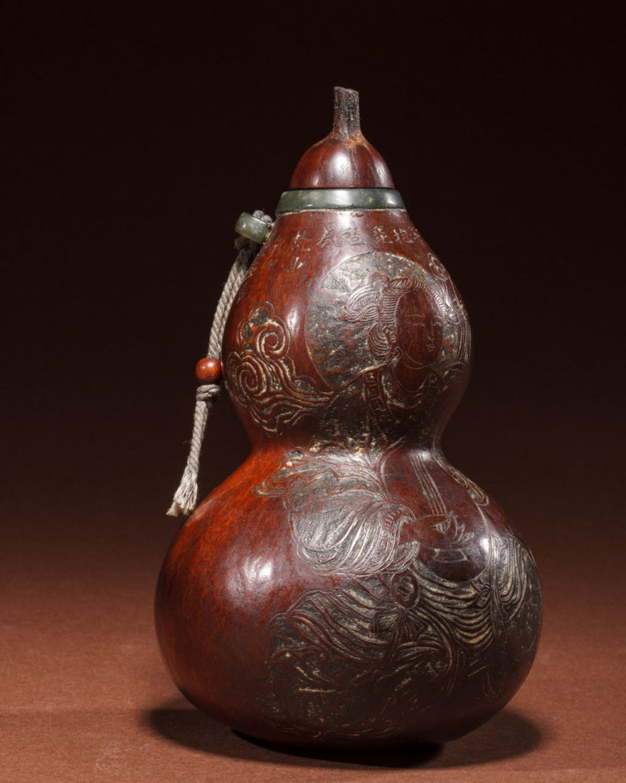 A Japanese Double-Gourd Decoration