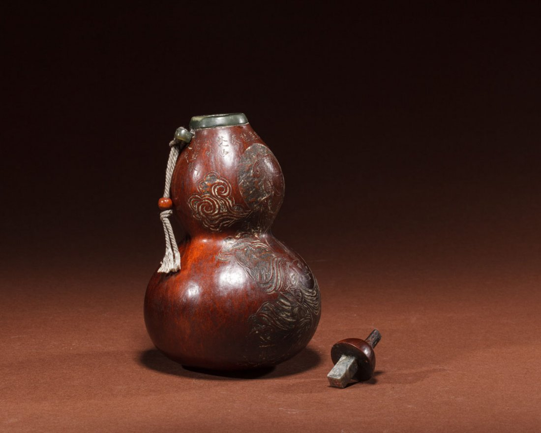 A Japanese Double-Gourd Decoration - 2