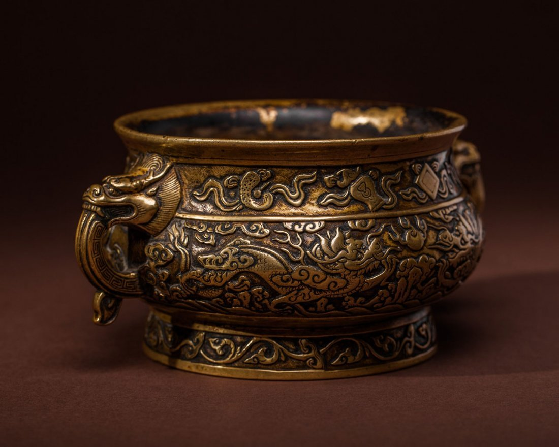A Chinese Bronze Censer - 3